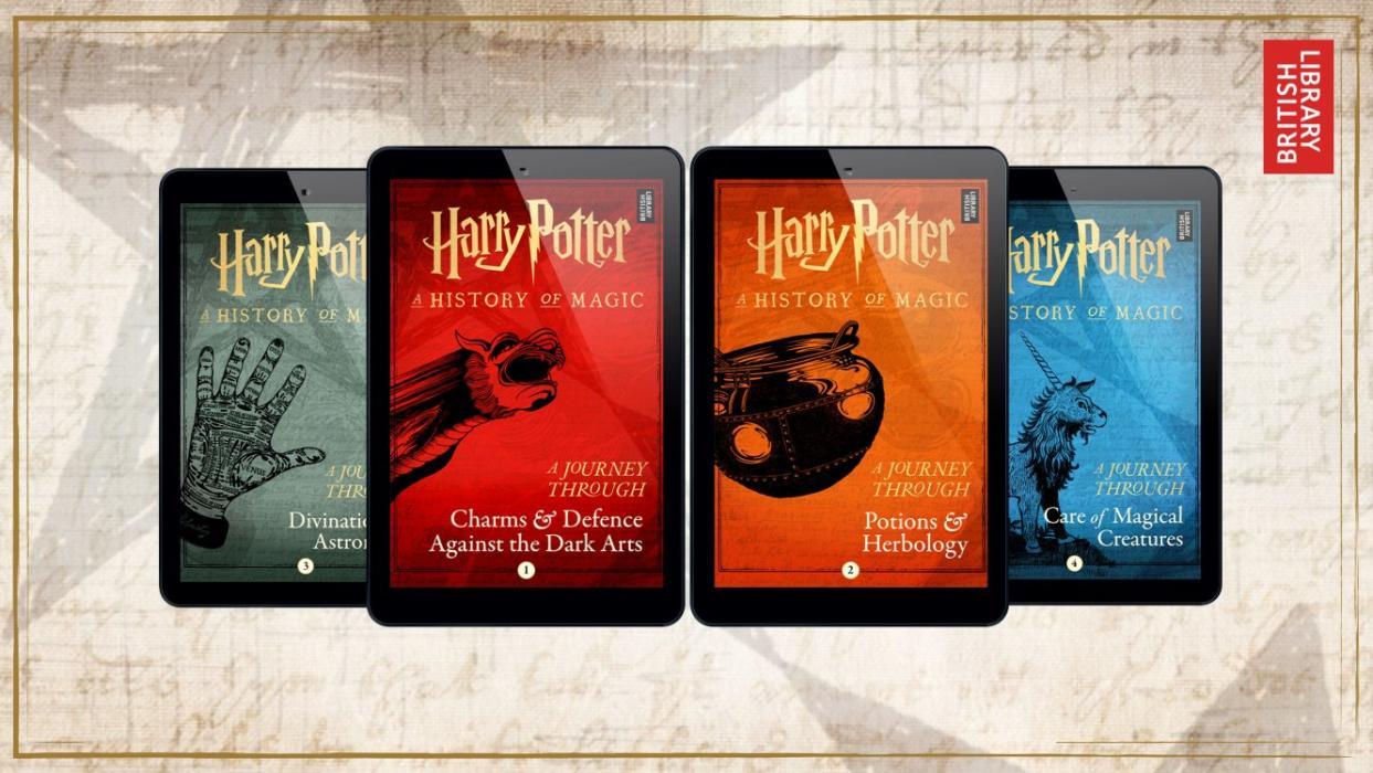 Anuncian 4 nuevos títulos de Harry Potter
