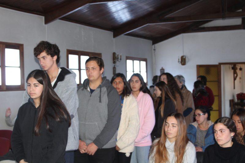 Renombrado Coro a Capella de la Universidad de Yale, se presenta en el Colegio Carampangue.