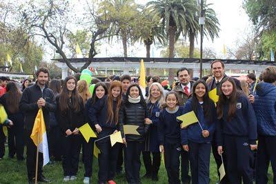 Lanzamiento oficial visita del Papa a Chile.