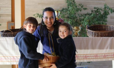 Comienzo de Semana Santa Jardín Infantil
