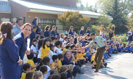 Aniversario de Carabineros de Chile en el Jardín Infantil
