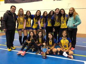 "Primer Lugar ¨Copa Plata"" Liga Metropolitana de Voleibol categoría Sub 14"