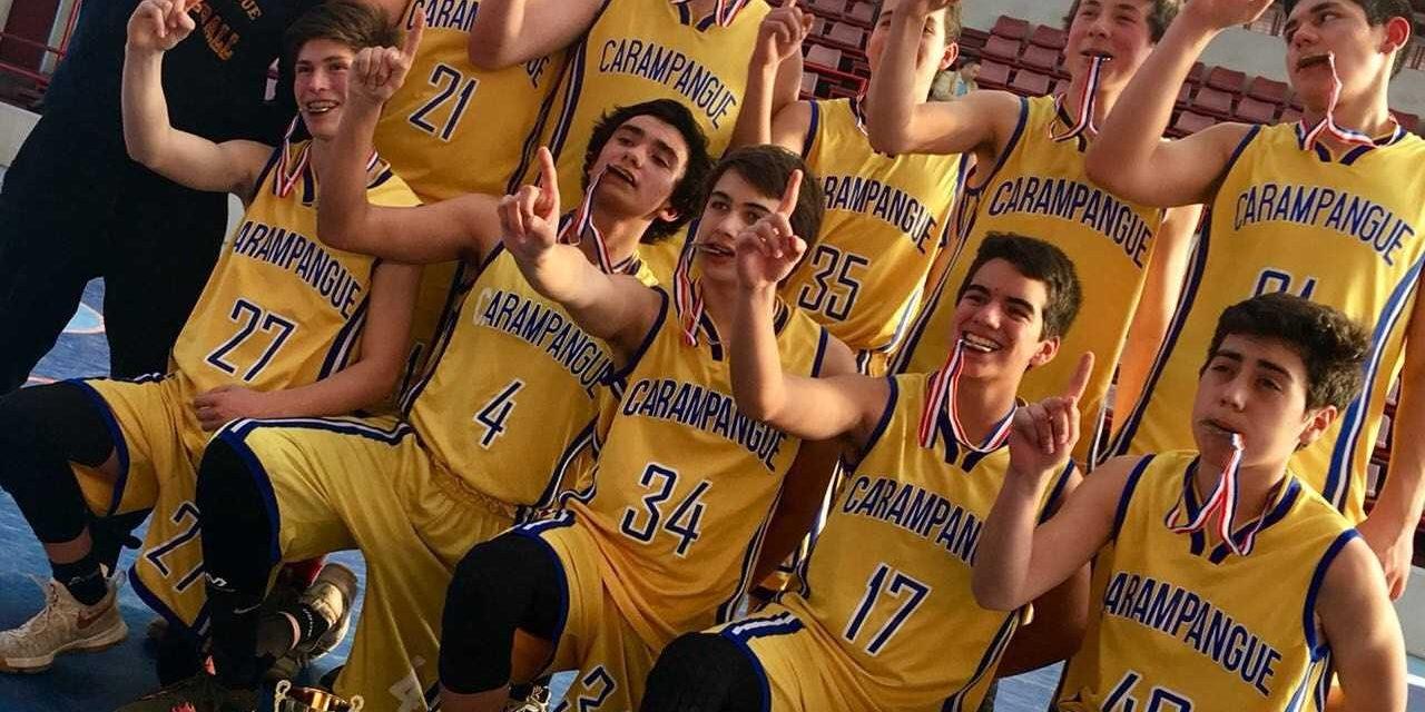 Campeones Sub 17 Basquetbol