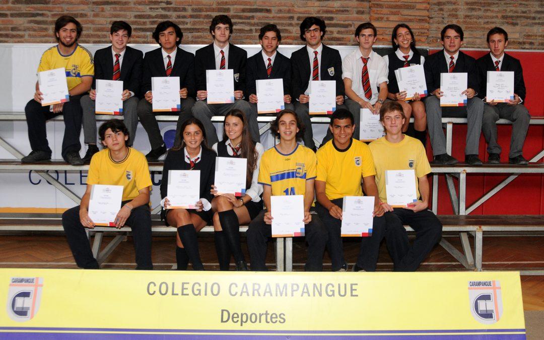 Premiación de Deportes