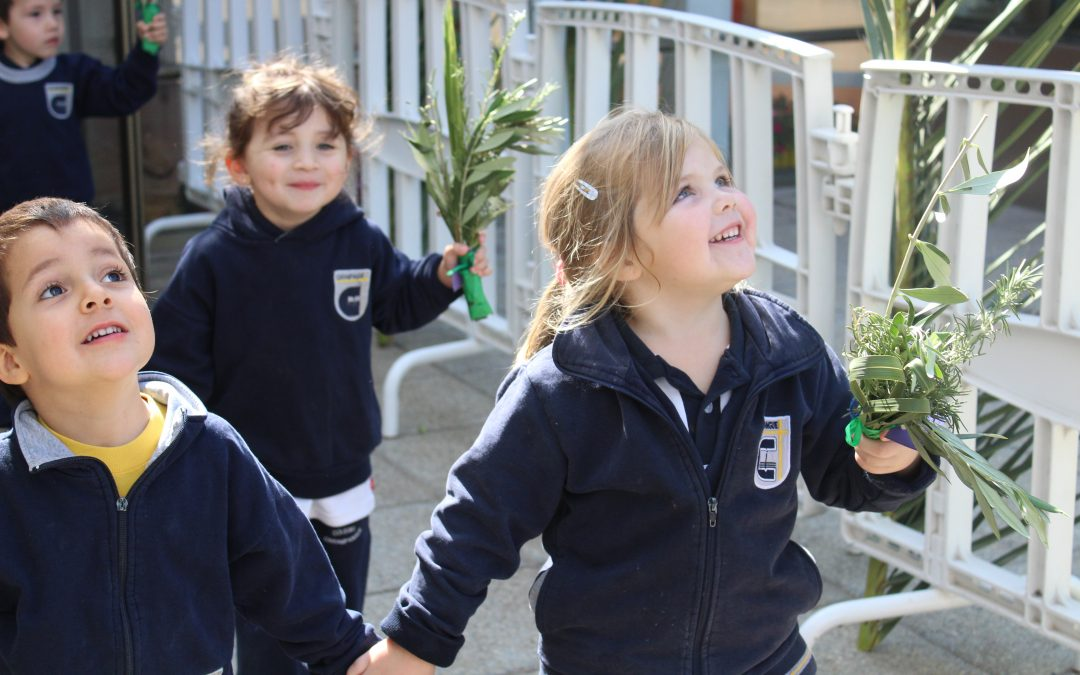 Liturgia Bendición de Ramos Jardín Infantil