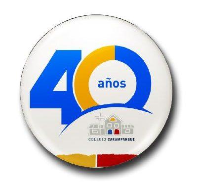Saludos de Aniversario 40 años Colegio Carampangue