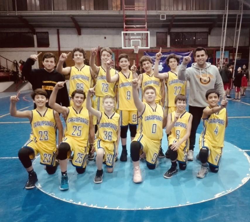 Colegio Carampangue Campeones Comunales