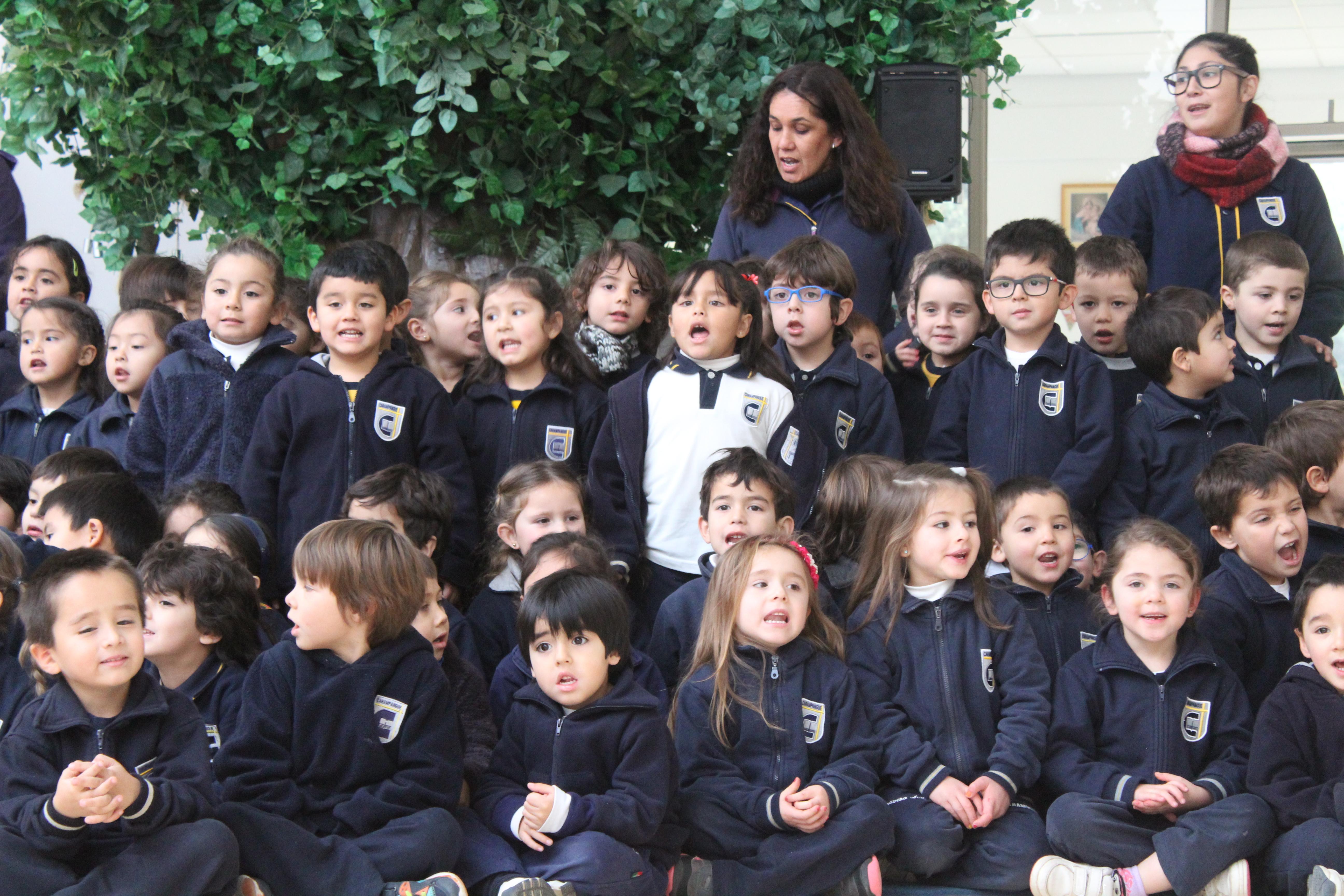 Termino 1° semestre Jardín Infantil