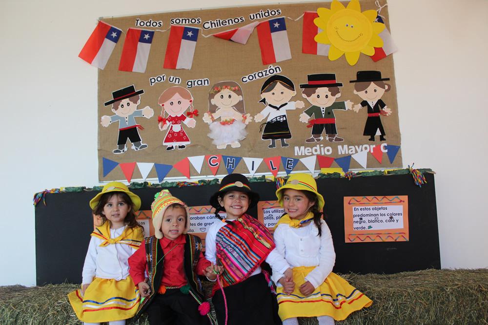 Día de la chilenidad Jardín Infantil