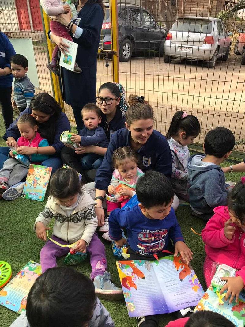 Visita Jardín Infantil Solcito de Pelvin