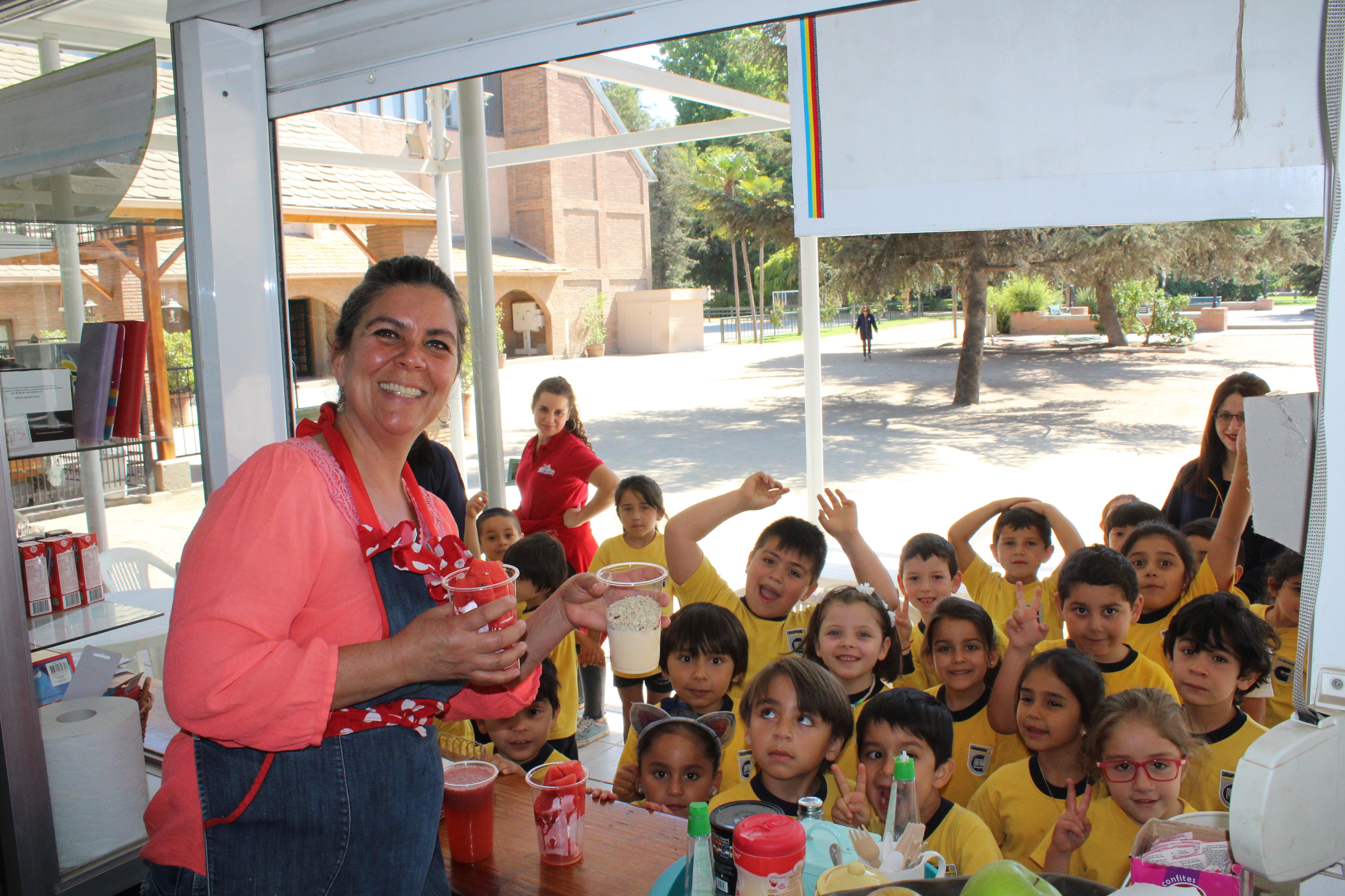 Visita Kinder al Colegio