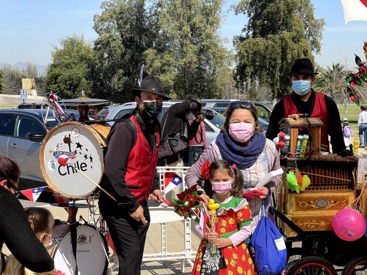 Semana de la Chilenidad en el Jardín Infantil Carampangue